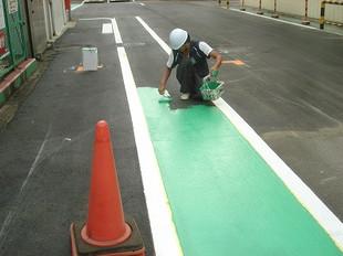道路誘導表示工事