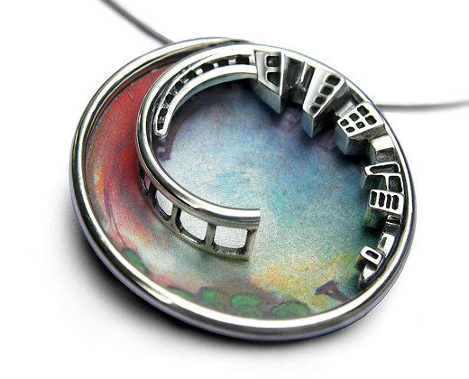 """City - Nature"" Pendant"