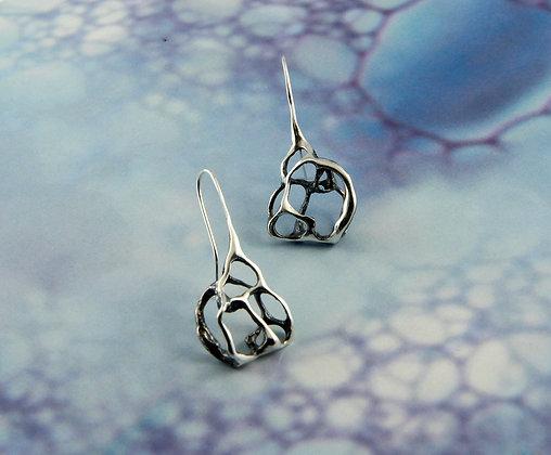 Lace Asymmetrical Earrings