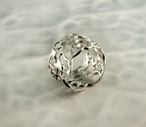 Silver Lace Ring II