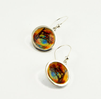 Autumn Tree Earrings