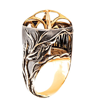 """Fountain Abbey"" Ring"