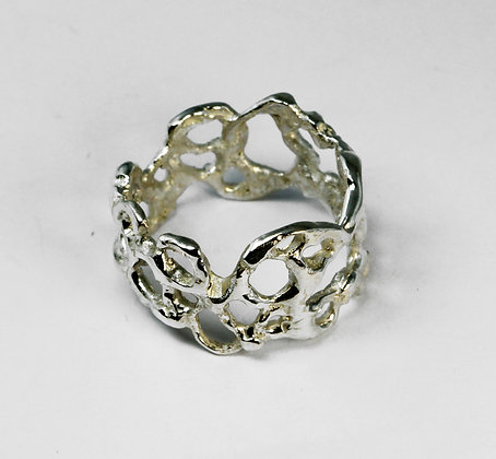 Silver Lace Ring III