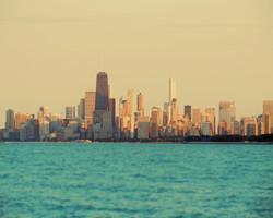 Lake Michigan Sky Line, Chicago