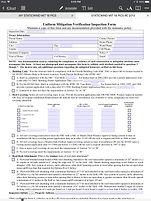Citizens Wind Mitigation Form United States