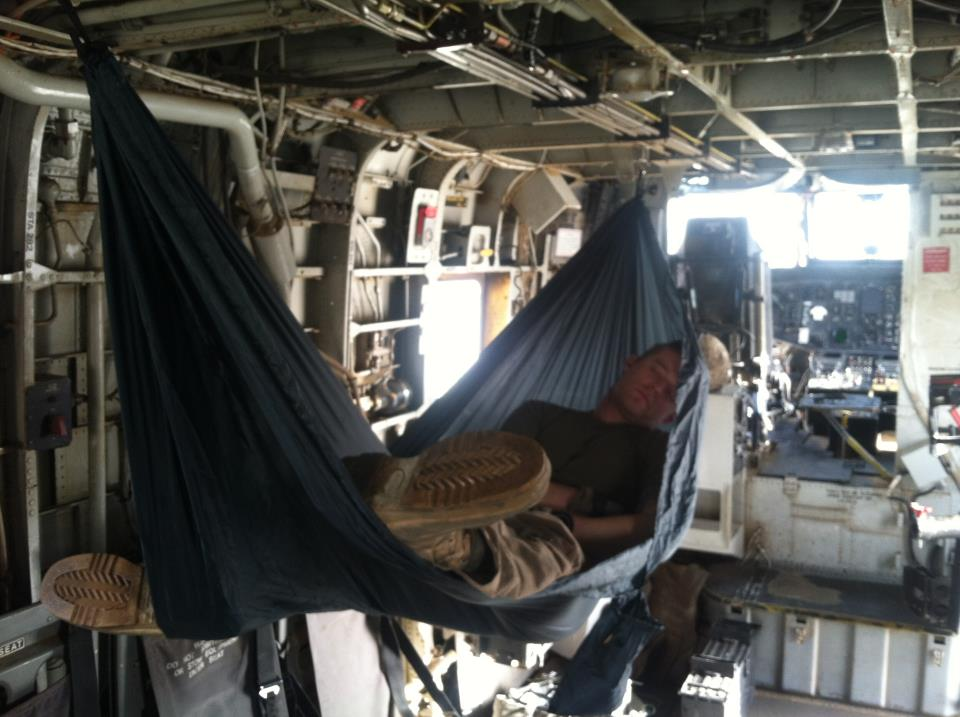 Sleeping in Afghanistan