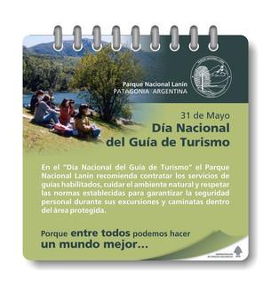 Feliz Día Nacional del Guía de Turismo