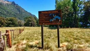 Nueva cartelería para sendas de la zona centro del Parque Nacional Lanín
