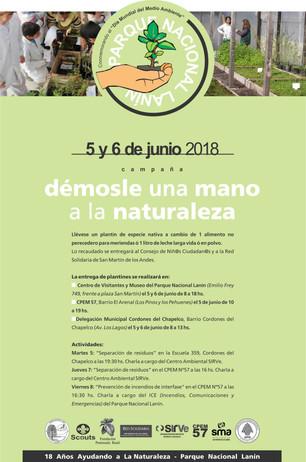 Entrega de plantines de especies nativas