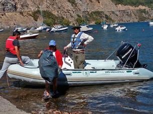 El PNL participó de la limpieza del lago Lácar
