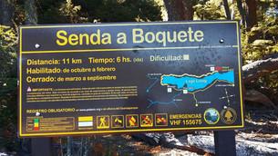 Nueva cartelería para sendas del Parque Nacional Lanín