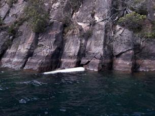 Rescate en el lago Lácar
