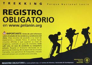 Nuevo registro Online para senderistas del Parque Nacional Lanín