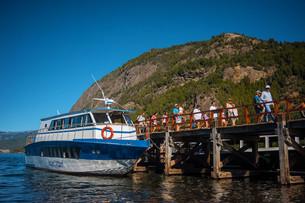 Beneficio del 50 por ciento para residentes de SMA y jubilados en las excursiones por el lago Lácar