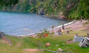 Servicios en el camping organizado Playa Bonita