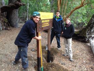 Avanza el Programa de Voluntarios en el Parque Nacional Lanín