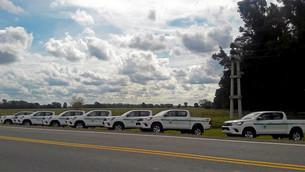 Nuevos vehículos para el Parque Nacional Lanín