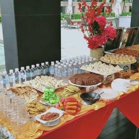 Buffet Setting 9