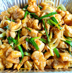 Ginger Fish & Spring Onion