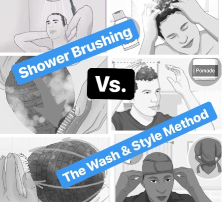 Shower Brushing Vs. The Wash & Style Method