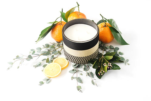 Orange Blossom + Vetiver Home Candle - 80 Hour Burn Time | Triple Wick