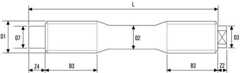 DIN2510-ZU Stud