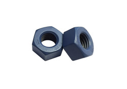 Heavy Hex Nuts Xylan 1070 Blue