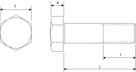 Hex Bolt BS1769