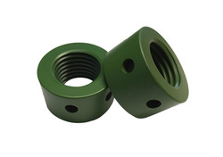 A322 4140 Round Nut Xylan Green
