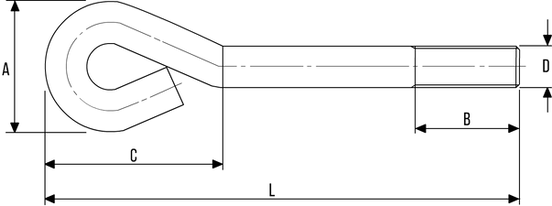 Anchor Bolt DIN529A