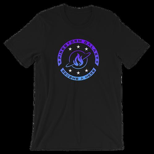 Firestorm Galaxy Logo Crest Tee