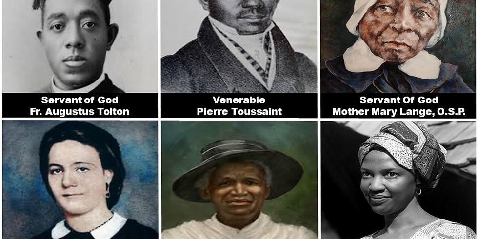 Day of Reflection - Six Black Catholic Sainthood Candidates 2020