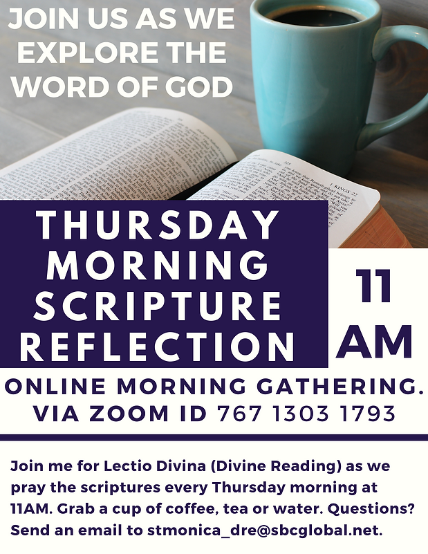 Thursday  Morning Scripture Reflection.p
