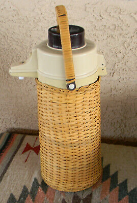 Vintage Wicker Coffee/Tea Dispenser