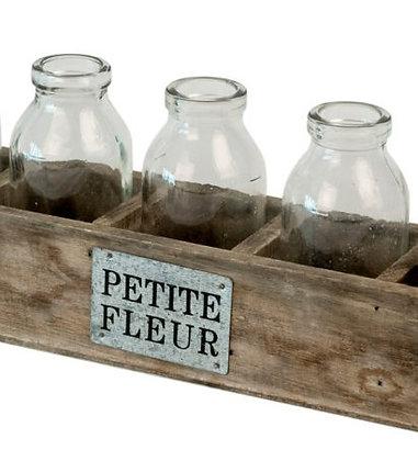 Petite Bottle & Vase Set