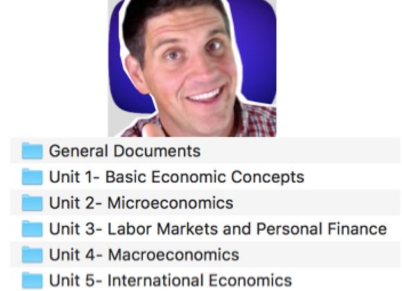 Standard Economics Teacher Resources 2021