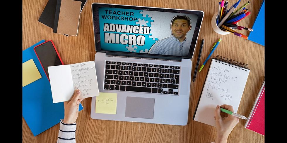 Online Microeconomics Workshop