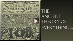 Jim Gleeson's SCIENCE GOD and YOU-- The Ancient Theory of Everything        --Out Soon!