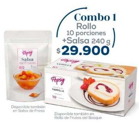 1 Rollo + Salsa