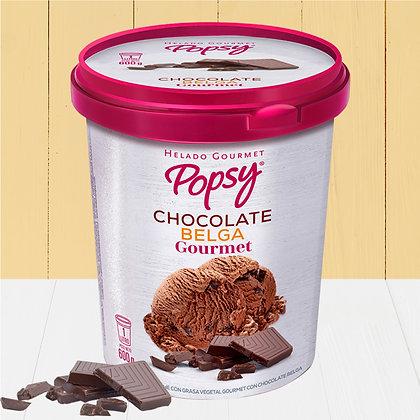 Litro de Helado de Chocolate Belga