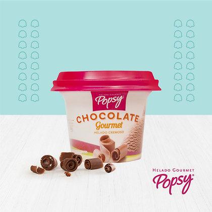 12 Vasitos de Helado de Chocolate