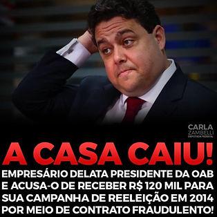 A CASA CAIU !!!