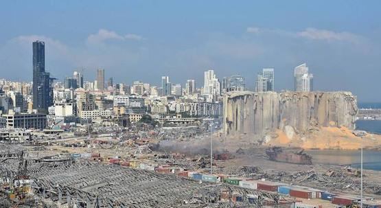 Beirute: explosão gerou terremoto de 3,5 graus de magnitude.