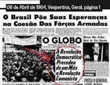 Os dias eram assim na ditadura militar ...
