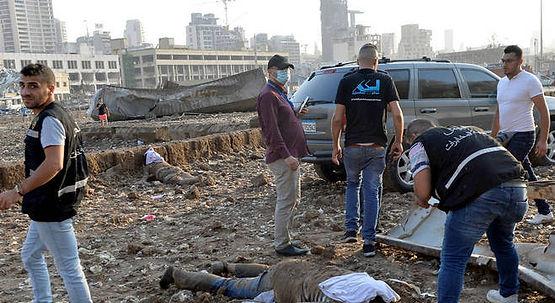 Chefe de porto de Beirute pediu há 6 anos remoção de material explosivo.