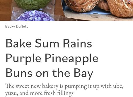 It's raining purple pineapple buns!