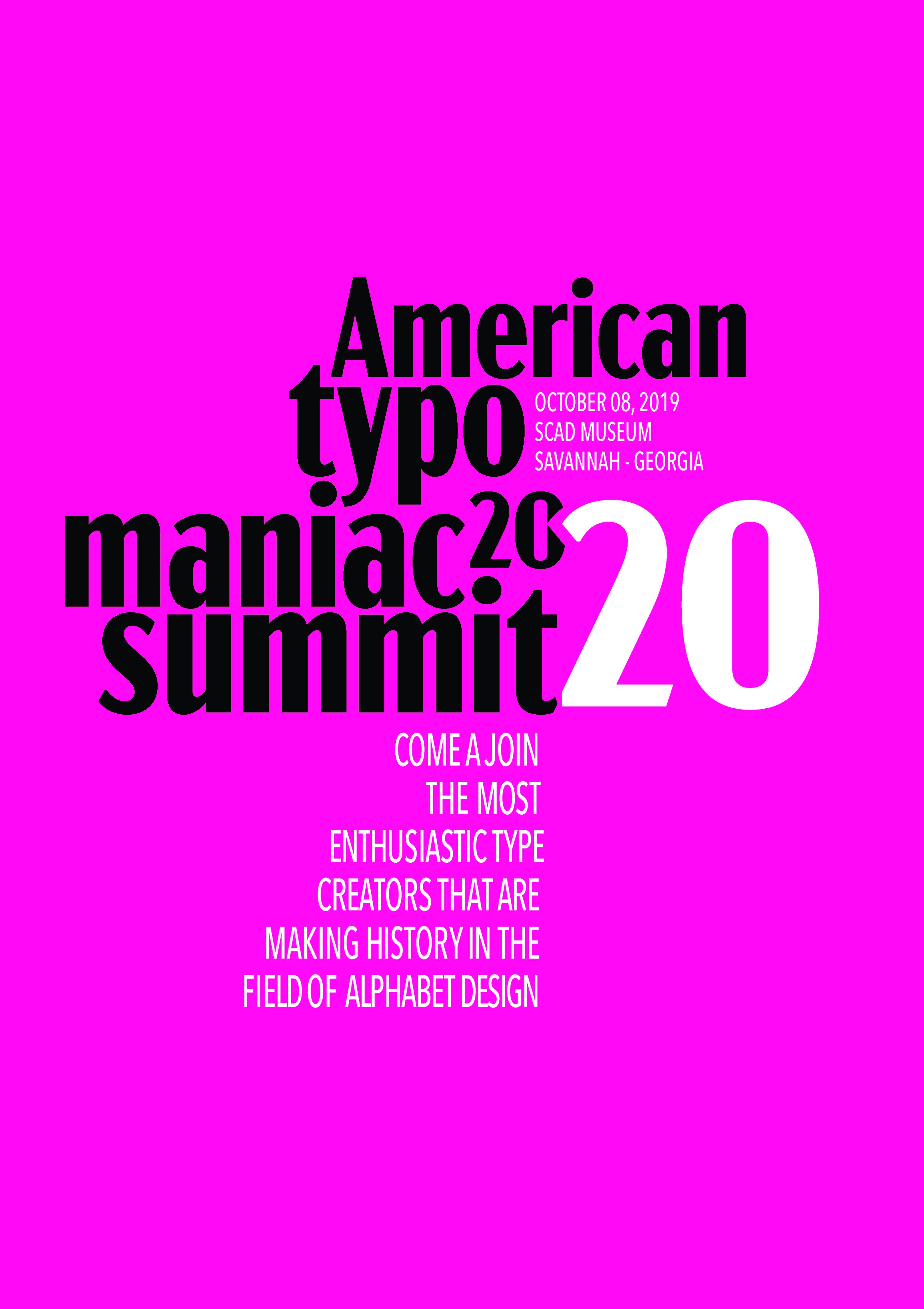American Typo Maniac Summit