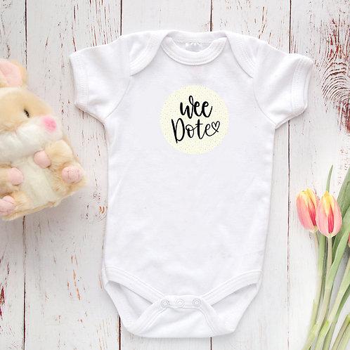 Wee Dote Baby Vest