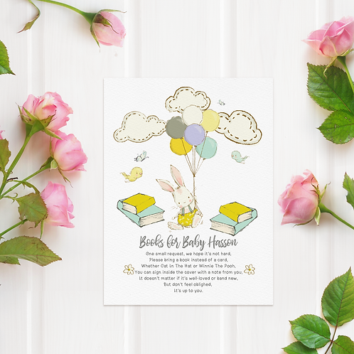 Digital Books For Baby Card