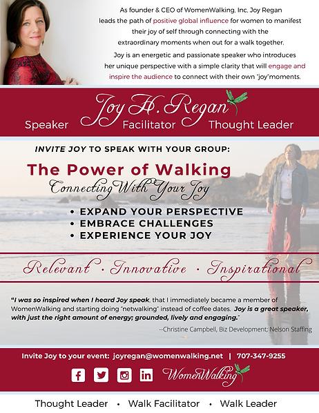 Joy Regan Speaker Sheet One Pager - FINA